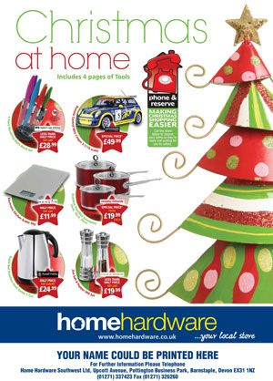 Home Hardware Inundated With Orders For Christmas Brochure